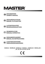 MASTER LOCK DH 80 User Manual