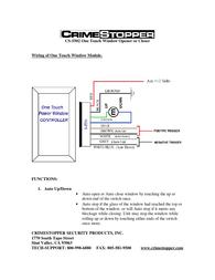 Crimestopper cs-5502 Reference Guide