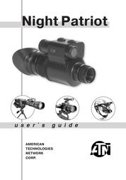 ATN Night Patriot User Manual