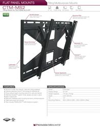 Premier CTM-MS2 Leaflet