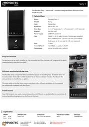 Revoltec Sixty 1 RG014 Leaflet