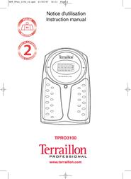 Terraillon Personal Lift TPRO3100 User Manual