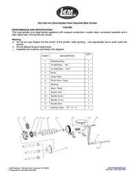 LEM Products 060 Leaflet