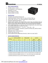 Seventeam ST-330PAS Leaflet