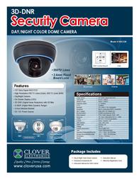 Clover Technologies Group HDC238 Leaflet