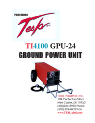 Tesla TI4100 GPU-24 Manual De Usuario