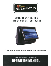 Concept RSS-905M Owner's Manual