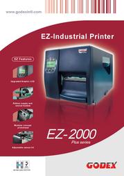 Godex EZ-2300Plus GP-EZ-2300PLUS+E Leaflet
