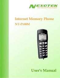 Nexotek NT-P100M User Manual