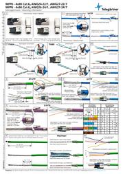Telegaertner Telegärtner J00026A4000, Pin RJ45 Plug, straight J00026A4000 Leaflet