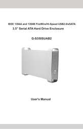 Macally G-S350SUAB2 User Manual