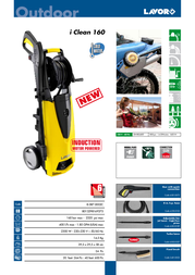 Lavorwash Iclean 160 8.087.0002C Leaflet