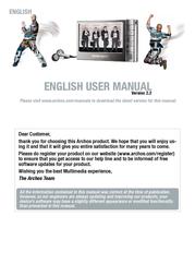 Archos Multimedia Player 504 160GB 500865 User Manual