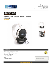 Omega FH0200B Leaflet