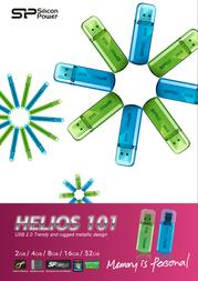 Silicon Power 4GB Helios 101 SP004GBUF2101V1N Leaflet