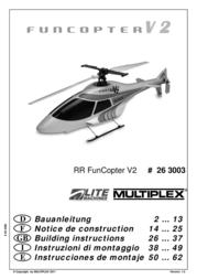 MULTIPLEX RR FunCopter V2 263003 User Manual