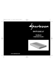 "Sharkoon Swift-Case 2.5"" T2US05 User Manual"