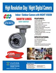 Clover Technologies Group HDC560 Leaflet