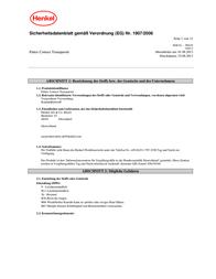 Pattex Transparent PXT3C 650 g PXT3C Data Sheet