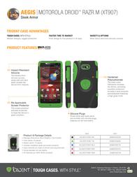 Trident Aegis AG-MOT-XT907-TG Leaflet