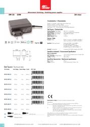 Alpha Elettronica SW25-405-60 Leaflet