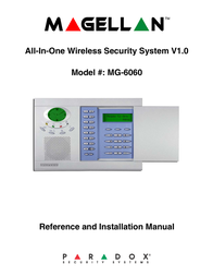 Magellan All-In-One Security System V1.0 MG-6060 User Manual