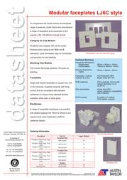 Austin Taylor 9MOD000003 Data Sheet
