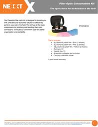Nexxt Solutions PTKFKEY01 Leaflet