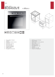 Bompani BO243ZS/E Leaflet