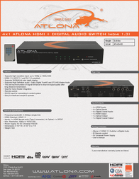 Lenexpo AT-HD41D Leaflet