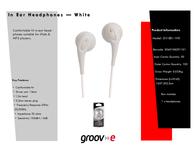 Groov-e GV-EB1-WE Leaflet
