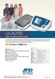 A&D UA-767PBT Leaflet