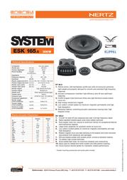 Hertz ESK 165.5 Leaflet