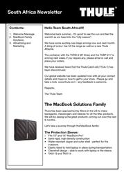 Thule TMPA-115 TMPA115 User Manual