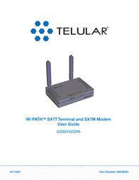 Telular SX7M User Manual