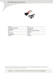 InLine Cat.6 LSA 69992 Leaflet