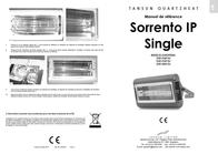 Tansun Quartz IR radiator 2000 W 12 m² Silver 102613 IP Data Sheet