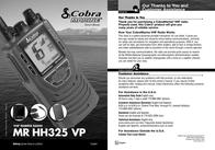 Cobra MR HH325 VP MR-HH325VP User Manual