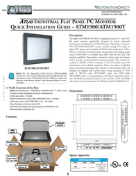 Atlas ATM1900T User Manual