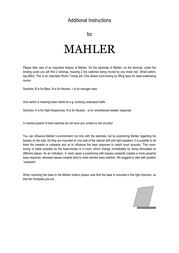 Vienna Acoustics Mahler Leaflet