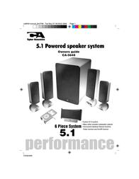 Cyber Acoustics CA-5648 User Manual