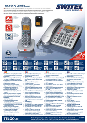 SWITEL DCT 6172 Combo DCT6172 COMBO Leaflet