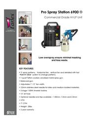 Earlex Spray Station 6900 HV6900US Leaflet