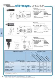Schuetzinger Connector clip Black 15 A Schützinger POL 6718 / SW 1 pc(s) POL 6718 / SW Data Sheet