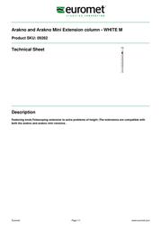 Euromet 09262 Leaflet