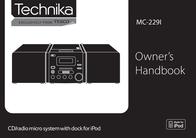 Technika MC-229I User Manual