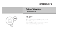 Kreisen KR-270T User Manual