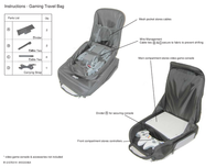 Atlantic Gaming Travel Bag User Manual