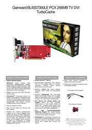 Gainward BP7300LE PCX 256MB TV-DVI 471846200-8002 Leaflet