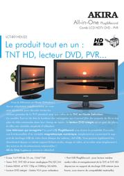 AKIRA LCT-B01HDU22H Leaflet